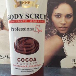 Body Scrub exfoloante con ácido glicolico de gránulos delicados